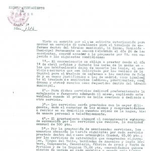 Documento del Ayuntamiento de Toledo